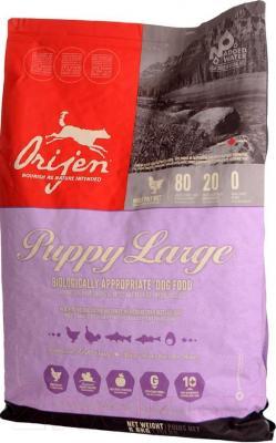 Корм для собак Orijen Puppy Large (6.8 кг) - общий вид