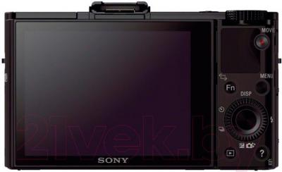 Компактный фотоаппарат Sony DSC-RX100M2 - вид сзади