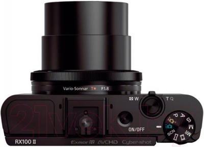 Компактный фотоаппарат Sony DSC-RX100M2 - вид сверху