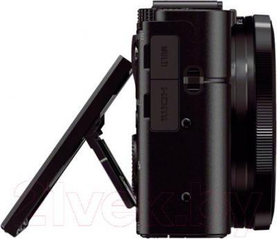 Компактный фотоаппарат Sony DSC-RX100M2 - вид сбоку
