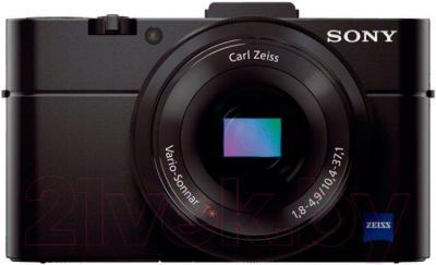 Компактный фотоаппарат Sony DSC-RX100M2 - вид спереди