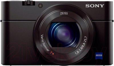 Компактный фотоаппарат Sony DSC-RX100M3 - вид спереди