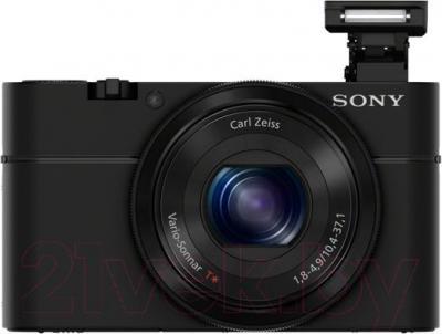 Компактный фотоаппарат Sony DSC-RX100 - вид спереди
