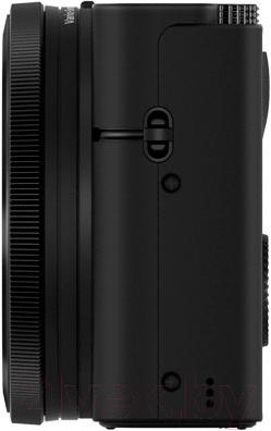 Компактный фотоаппарат Sony DSC-RX100 - вид сбоку