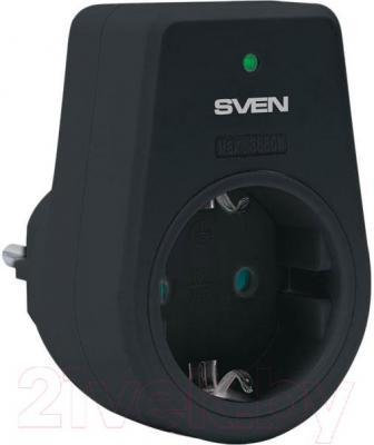 Сетевой фильтр Sven Uno (черный) - общий вид