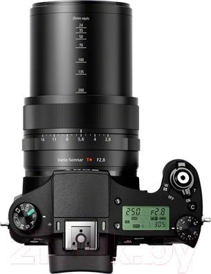 Компактный фотоаппарат Sony DSC-RX10 - вид сверху