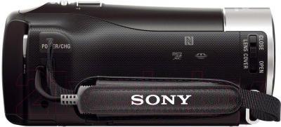 Видеокамера Sony HDR-PJ410B - вид сбоку