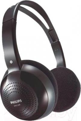 Наушники Philips SHC1300 (черный) - общий вид