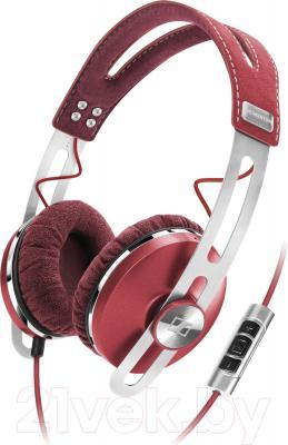 Наушники Sennheiser Momentum On-Ear (красный) - общий вид