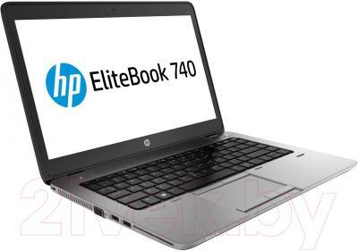Ноутбук HP EliteBook 740 G1 (J8Q61EA) - вполоборота