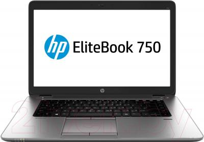 Ноутбук HP EliteBook 750 G1 (J8Q57EA) - общий вид