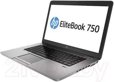 Ноутбук HP EliteBook 750 G1 (J8Q57EA) - вполоборота