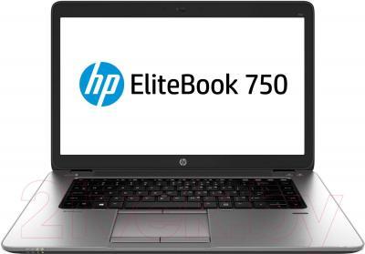 Ноутбук HP EliteBook 750 G1 (J8Q82EA) - общий вид