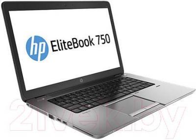 Ноутбук HP EliteBook 750 G1 (J8Q82EA) - вполоборота