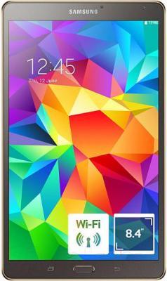 Планшет Samsung Galaxy Tab S 8.4 16GB / SM-T700 (титан) - общий вид