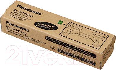 Тонер-картридж Panasonic KX-FAT472A7 - общий вид