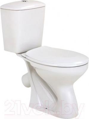 Унитаз напольный Colombo Славута R (чаша+бачок+сиденье, нижний) - общий вид