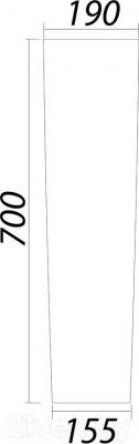 Пьедестал Colombo Лотос S14700000