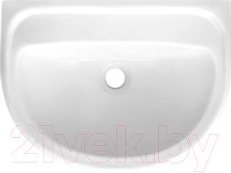 Умывальник настенный Colombo Полисся R S19105500 (без отверстия, белый)