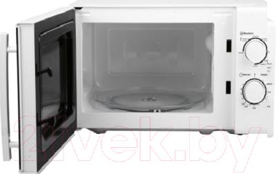 Микроволновая печь Horizont 20MW700-1478BIW - с открытой дверцей