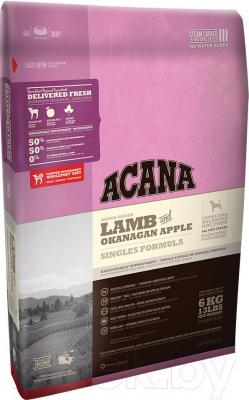 Корм для собак Acana Lamb & Okanagan Apple (6 кг) - общий вид