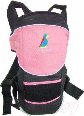 Эрго-рюкзак Pierre Cardin PMC31 (розовый) - общий вид