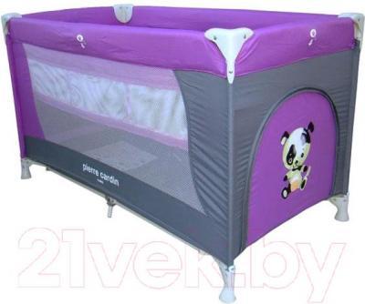 Кровать-манеж Pierre Cardin PS130 (фиолетовый) - общий вид