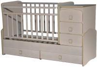 Детская кровать-трансформер Антел Ульяна-2 (клен) -