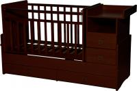 Детская кровать-трансформер Антел Ульяна-4 (орех) -