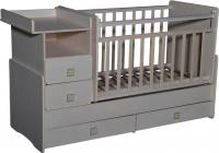 Детская кровать-трансформер Антел Ульяна-4 (клен) -