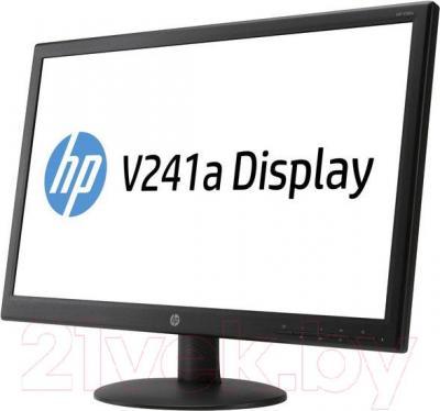 Монитор HP V241a (E5Z95AA) - вполоборота