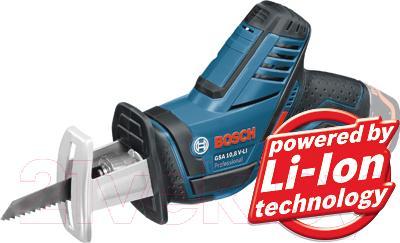 Профессиональная сабельная пила Bosch GSA 10.8 V-LI Professional (0.601.64L.902) - общий вид