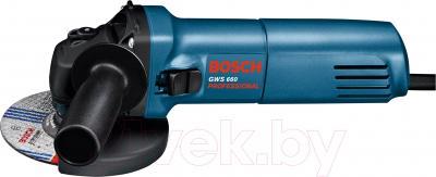 Профессиональная болгарка Bosch GWS 660 (0.601.375.08H) - вид сбоку