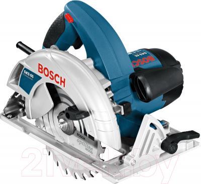 Профессиональная дисковая пила Bosch GKS 65 Professional (0.601.667.000) - общий вид