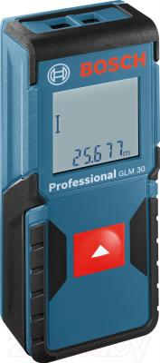 Дальномер лазерный Bosch GLM 30 Professional (0.601.072.500) - общий вид