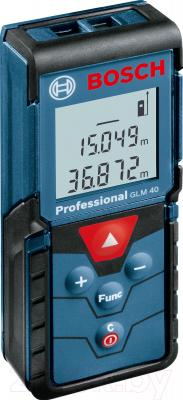 Дальномер лазерный Bosch GLM 40 Professional (0.601.072.900) - общий вид