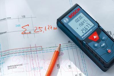Дальномер лазерный Bosch GLM 40 Professional (0.601.072.900) - в работе