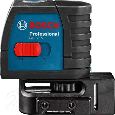 Нивелир Bosch GLL 2-15 Professinal (0.601.063.701) - вид сбоку