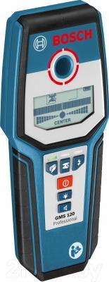 Детектор скрытой проводки Bosch GMS 120 Professional (0.601.081.000) - общий вид