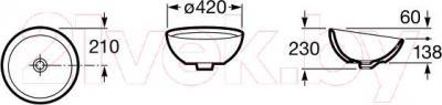 Умывальник Roca Bol 42 (А327876000)