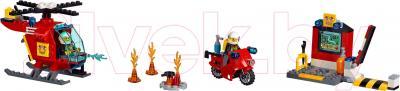 Конструктор Lego Juniors Чемоданчик Пожар 10685 - общий вид