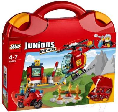 Конструктор Lego Juniors Чемоданчик Пожар 10685 - упаковка