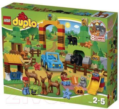 Конструктор Lego Duplo Лесной заповедник 10584 - упаковка
