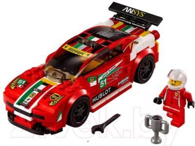 Конструктор Lego Speed Champions 458 Италия GT2 75908 - общий вид
