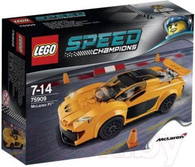 Конструктор Lego Speed Champions Макларен P1 75909 - упаковка