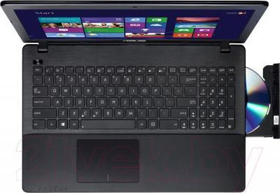 Ноутбук Asus X552MD-SX073D - вид сверху