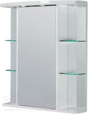 Шкаф с зеркалом для ванной Акватон Эмили 80 (1A002702EM010) - общий вид