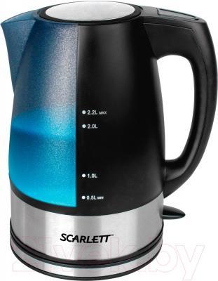 Электрочайник Scarlett SC-EK18P18 - общий вид
