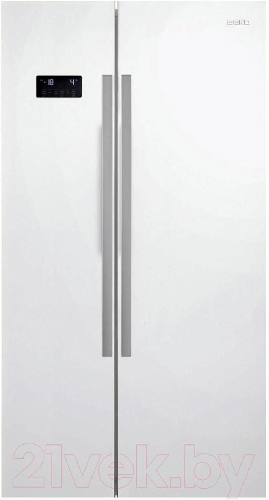 Холодильник с морозильником Beko