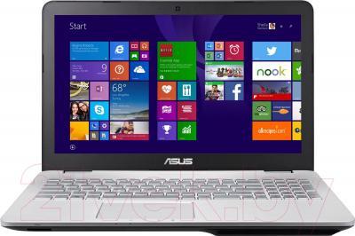 Ноутбук Asus N551JM-CN099H - общий вид